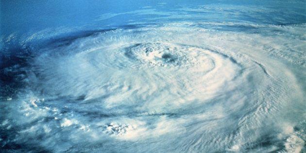 Hurricane Elena in the Gulf of