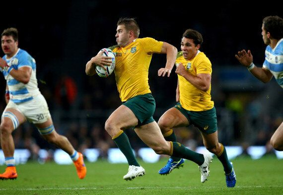 Australia Secures Finals Spot In Rugby World Cup Win Over