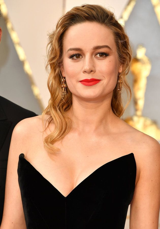 Brie Larson arrives at the 89th Annual Academy Awards,