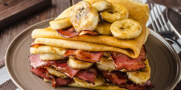 Bacon and banana,