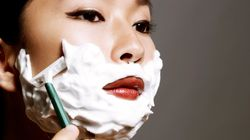 Women Are Shaving Their Faces For Better