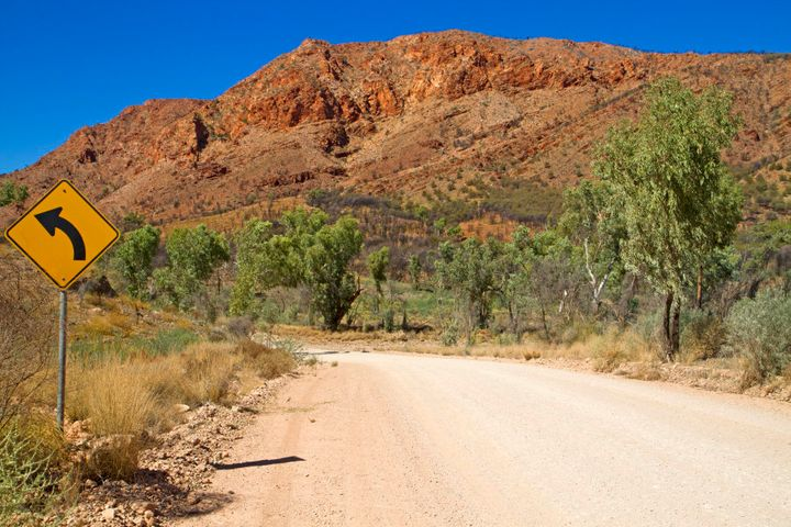 Every road in the East MacDonnell Ranges takes you somewhere astounding.