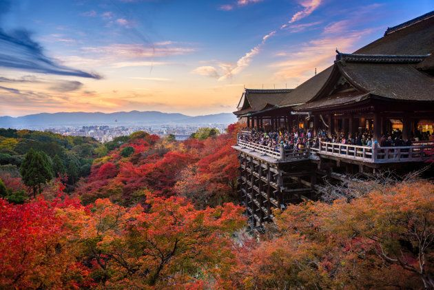 The Kiyomizu-dera temple is one of Japan's most celebrated.