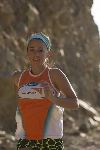 Samantha Gash running in India for World Vision