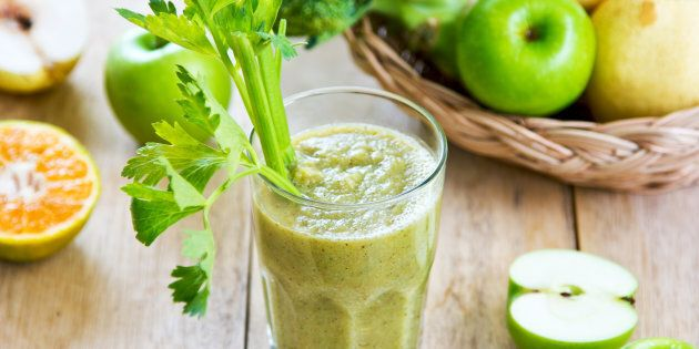 Green smoothies. You don't need