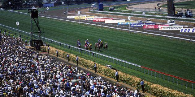A race-Melbourne Cup, Victoria,