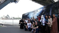 May The Force Be With Star Wars Super Geeks On 12-Hour Bus
