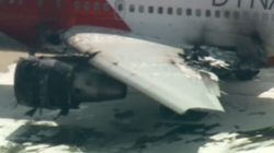 Plane Catches On Fire At U.S. Airport, Leaving 15