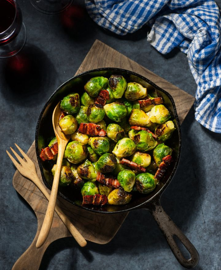 Yep, even brussels sprouts can taste delicious with the right cooking method.