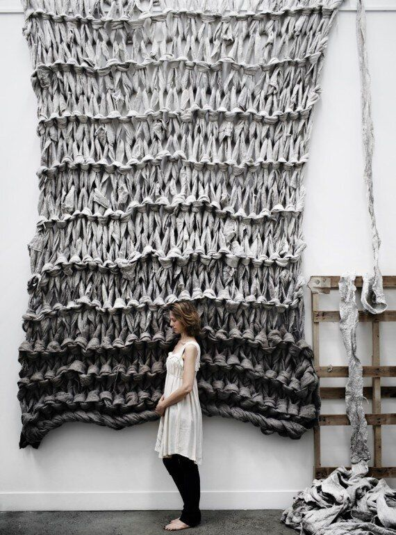 Meet The Maker Behind The Most Incredible Giant Knitting
