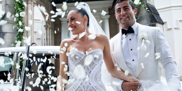 Terry Biviano's J'Aton gown she wore at her wedding to Anthony Minichiello is part of the