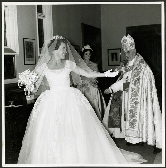 Diana Fisher married the son of the Archbishop of Canterbury in