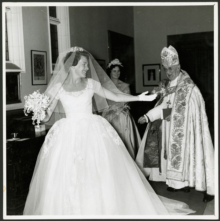 Diana Fisher married the son of the Archbishop of Canterbury in 1959.