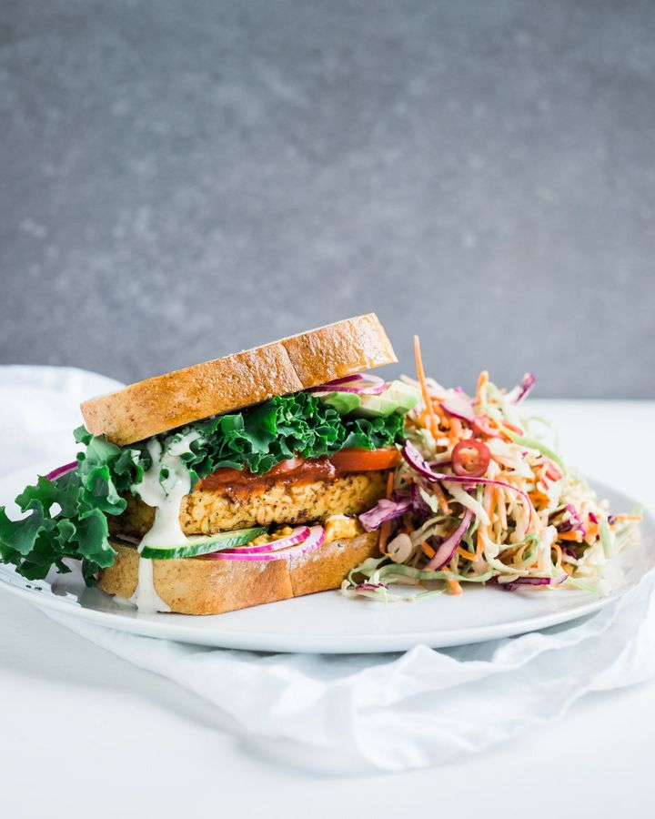 Tempeh is an Indonesian soy product, similar to tofu, which you can use in stir fry, burgers and curries.