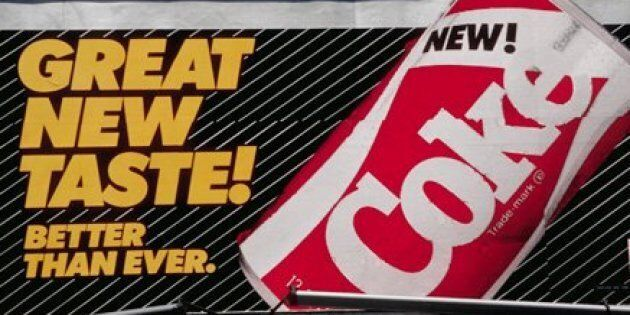 New Coke's 1985 launch is still regarded as one of the biggest failures in the world of marketing, if not THE biggest.