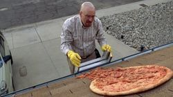 'Breaking Bad' Fans Still Tossing Pizzas On Walter White's