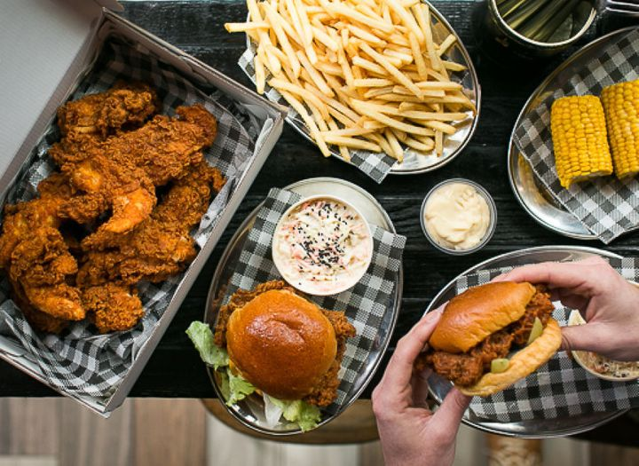 Butter, a hybrid sneaker, fried chicken and champagne bar in Surry Hills, is now available for delivery.