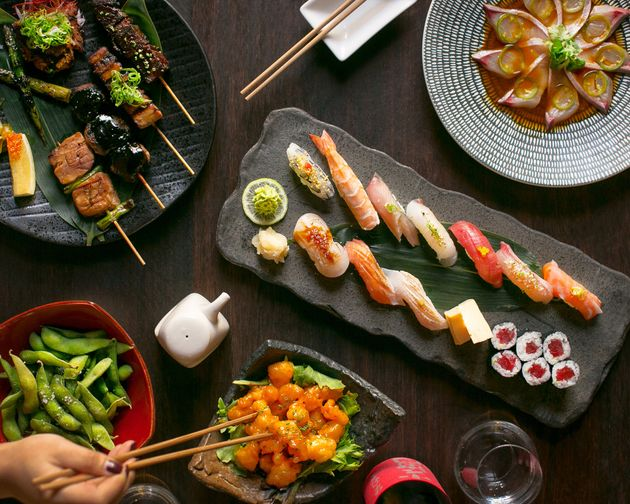 Sake's famous sushi will also be available on the food delivery