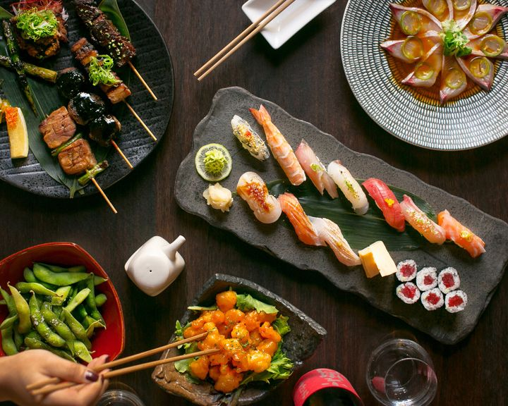 Sake's famous sushi will also be available on the food delivery app.