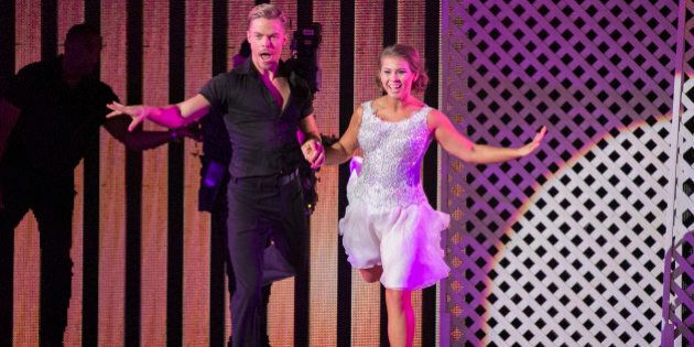 DANCING WITH THE STARS - 'Episode 2106' - The remaining nine celebrities returned to their original professional...