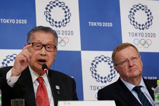 Coates recently, seated alongside Tokyo 2020 Games organising committee head Yoshiro Mori. Caotes fans...