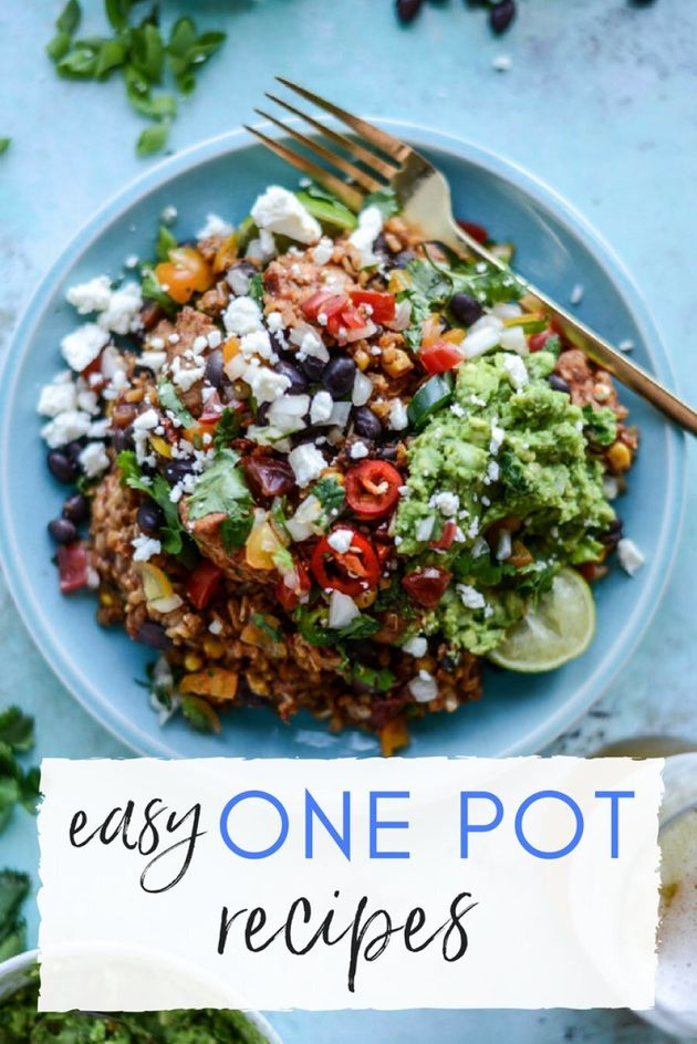 These 7 One-Pot Meals Are Easy, Fuss-Free And So