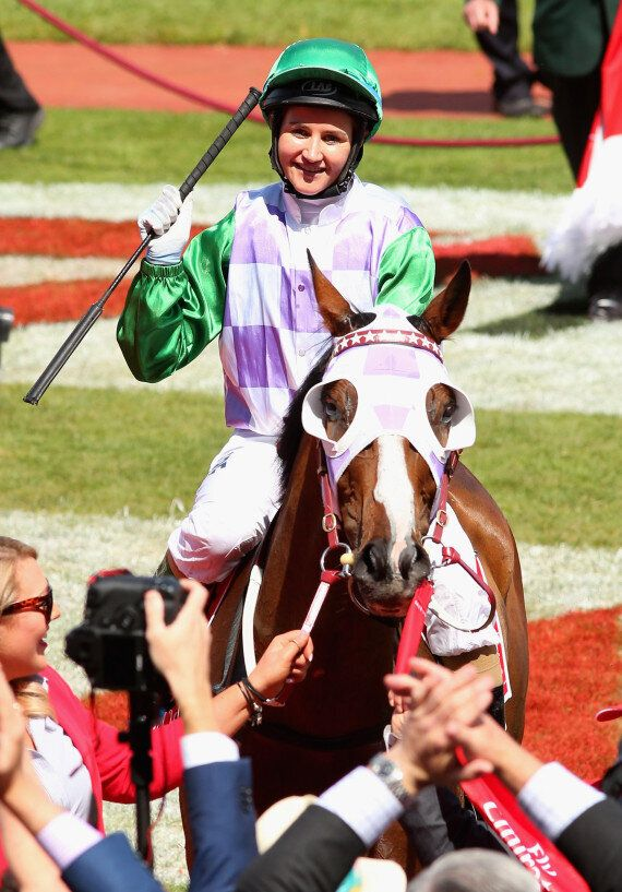 Prince Of Penzance Wins The Melbourne Cup, Michelle Payne Makes