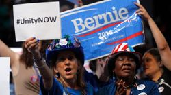 Bernie Backers Boo Hillary At Democratic