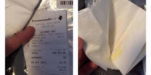 Man Finds Used Napkin, Receipt In His Pants From The