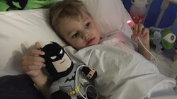 This Little Batman Battler Is Out To Kick Cancer's