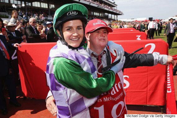Melbourne Cup-Winning Jockey Michelle Payne Thanks Her Dad And