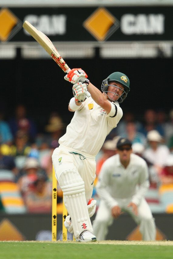 David Warner Makes 100 In The First Test At The Gabba, Malcolm Turnbull Asks: