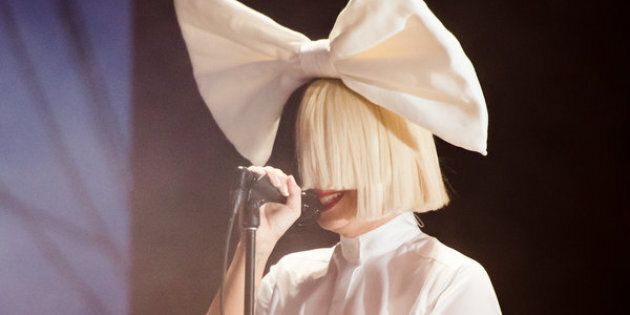 Sia performs on July 24, 2016, in New York.