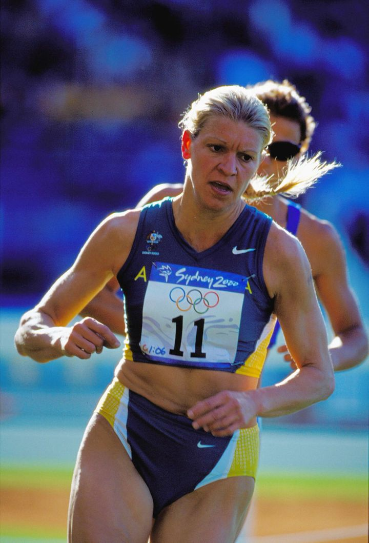 We're sure Kitty Chiller won't mind us unearthing this old pic of her competing in the modern pentathlon at the Sydney 2000 Games.