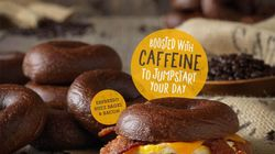 Introducing Caffeinated Bagels: To Make Your Mornings