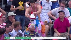 This Man Fell Asleep At The Cricket And Everyone Took The