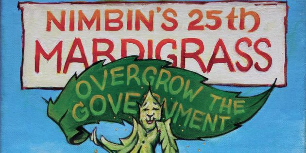 The annual festival has been held in Nimbin over the past 25