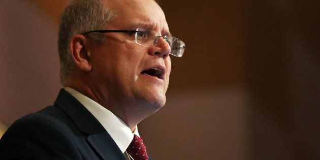 Treasurer Scott Morrison prepares to deliver his second Federal