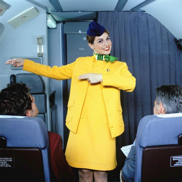 Airline jobs are frequently swiped-right across the board, and doesn't she look happy about it?