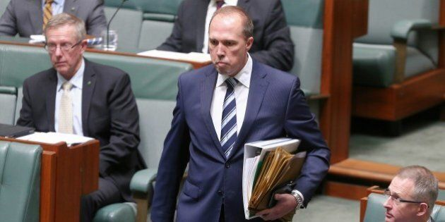 Dutton on Christmas Island: 'We Won't Cower In The Face Of