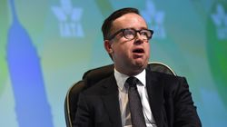 Qantas CEO Alan Joyce Cops Cream Pie In Face At Business