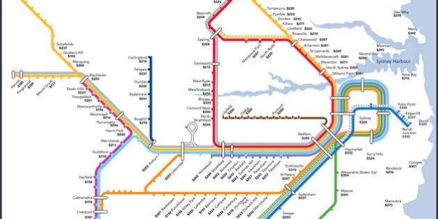 Rent By Train Station Maps For Sydney, Brisbane And ...