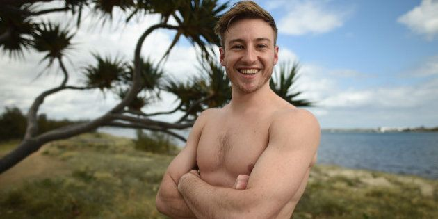GOLD COAST, AUSTRALIA - OCTOBER 30: Matthew Mitcham of Australia poses for a portrait during the FINA...
