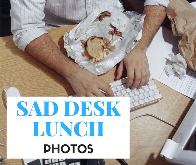 25 Sad Desk Lunches That Are Hilarious (Yet Horrifyingly