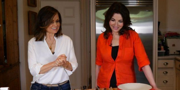When Nigella Lawson Visits Your Home And Cooks In Your