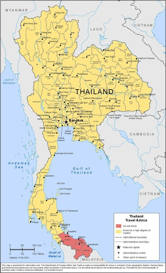 Pattani is part of the 'do not travel' zone in Thailand's far south, where Muslim insurgents have been...