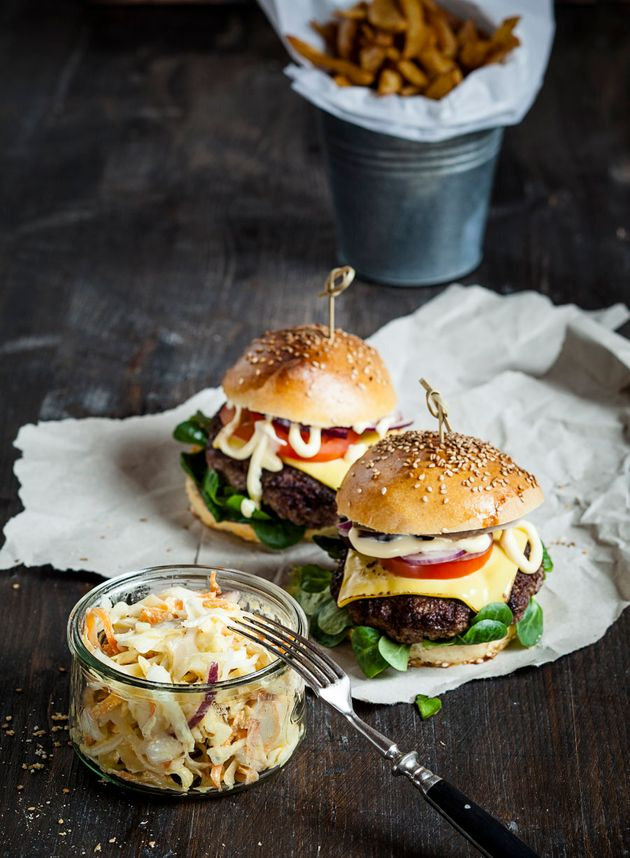 On the next burger night, make a fresh slaw for the