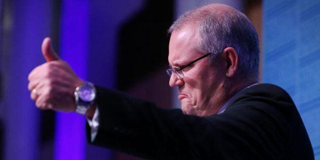 Treasurer Scott Morrison:
