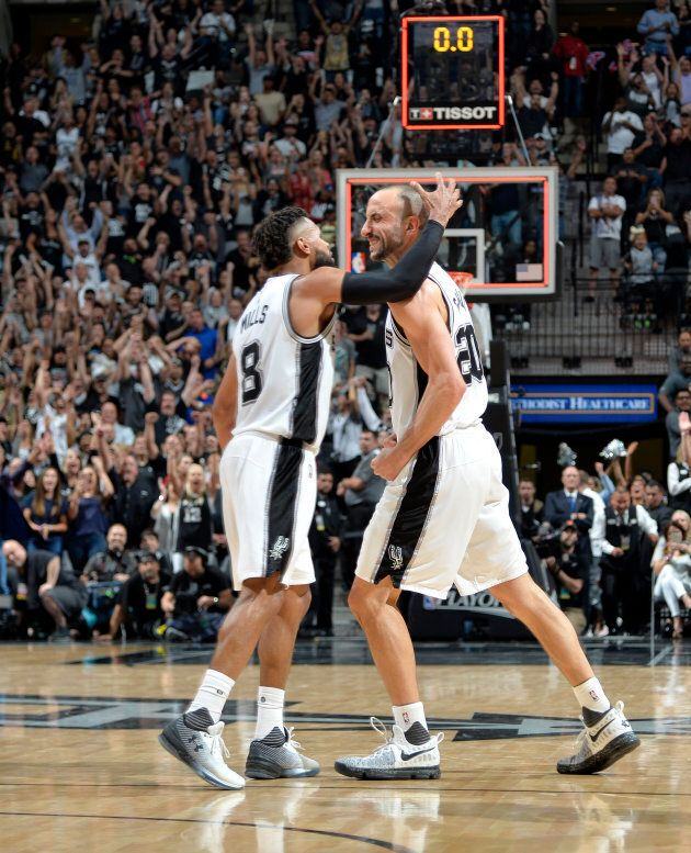 The bad haircut competition between Manu Ginobili and Mills was too close to call.