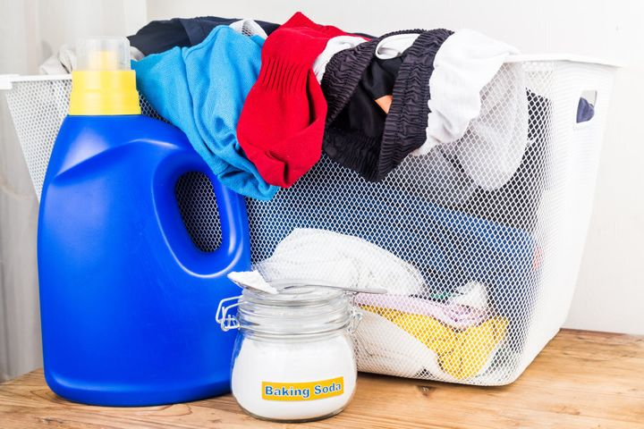 Bi-carb works well as a cleaning agent because it is a mild alkali, causing dirt and grease to dissolve more easily in water.